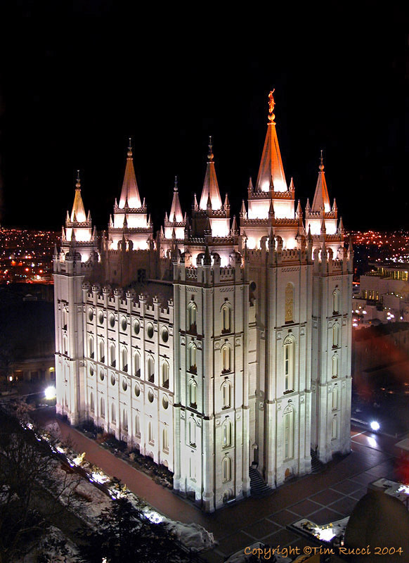 8692R - Salt Lake City Temple
