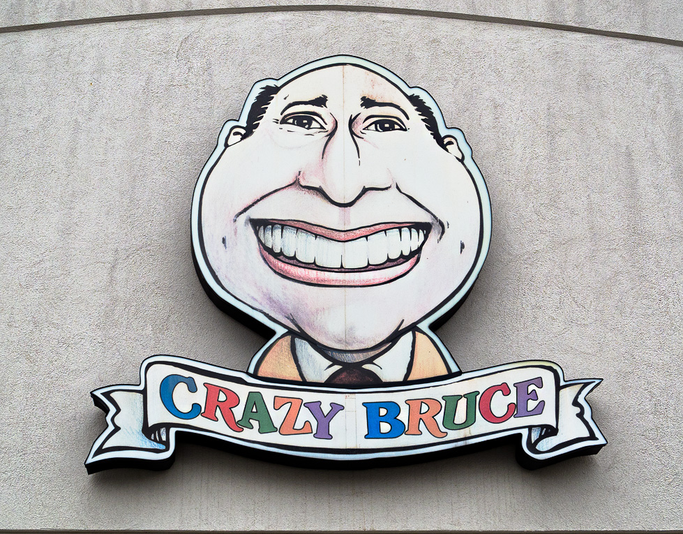 Crazy Bruce (see link to video below)