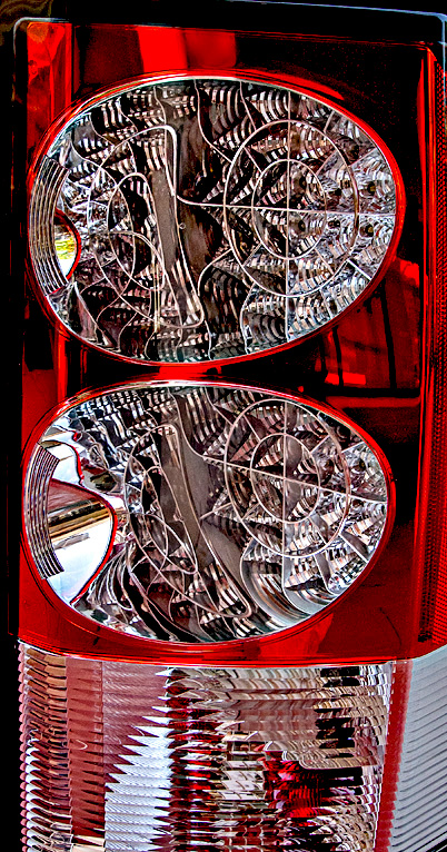 Land Rover taillight