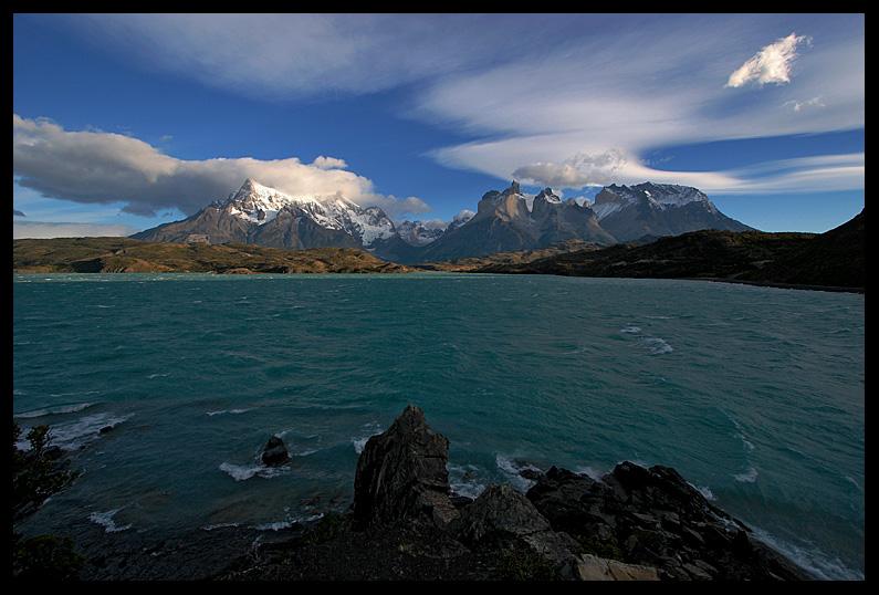 Cuernos del Paine Pehoe Panoramic