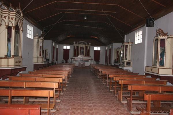 Interior de la Iglesia de Santo Tomas Milpas Altas