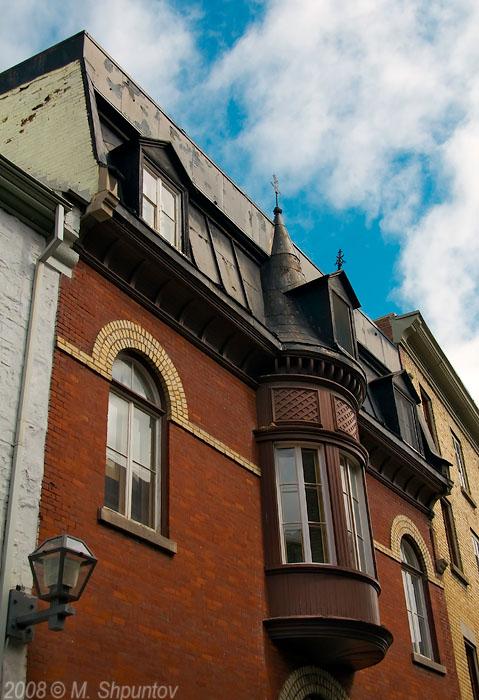 Windows of Old Quebec City