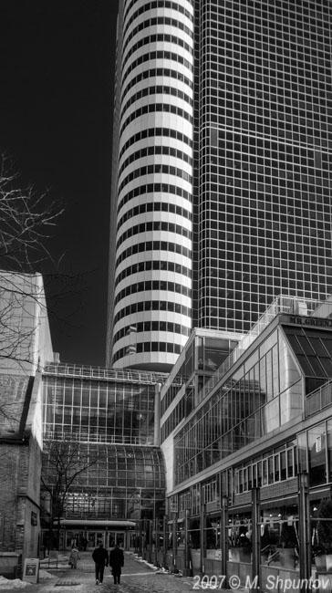 Eatons Centre Tower , Toronto BW