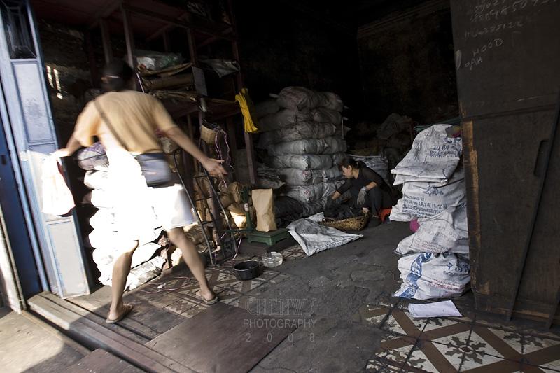 Charcoal shop