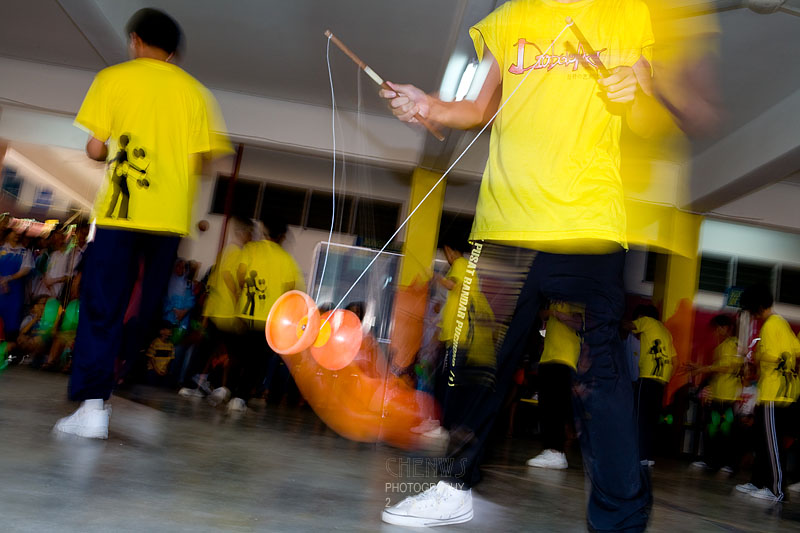 Diabolo performance