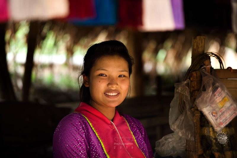 Palong hill tribe girl