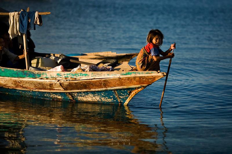 Bajau Laut (sea gypsy) girl