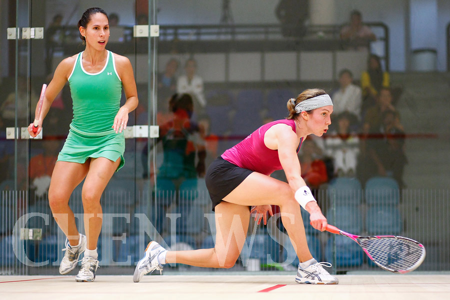 Madeline Perry (Irl) vs Samantha Teran (Mex) (green)