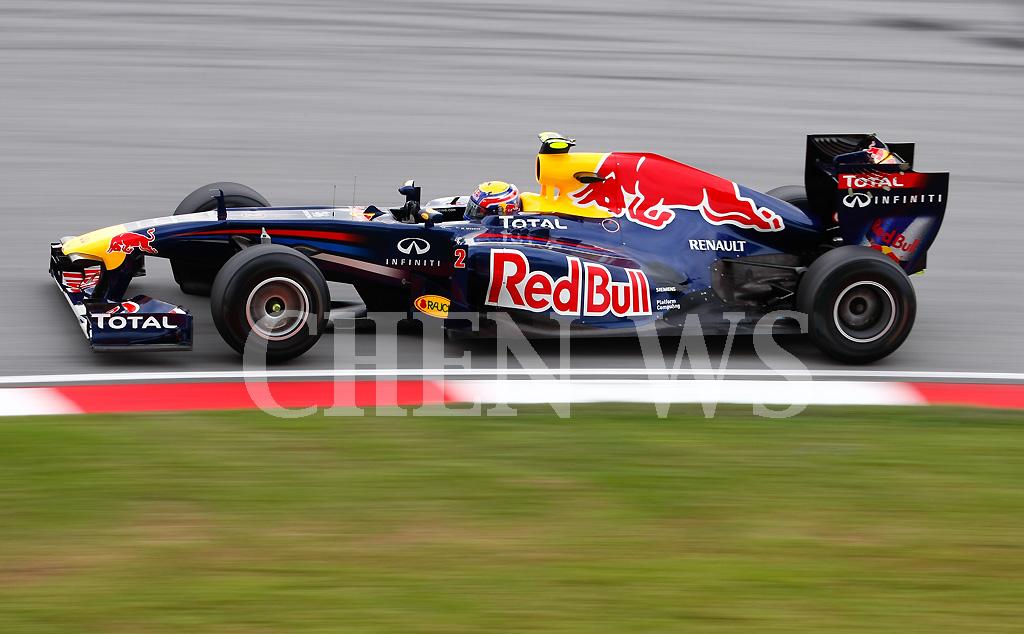 Red Bull Racings Mark Webber