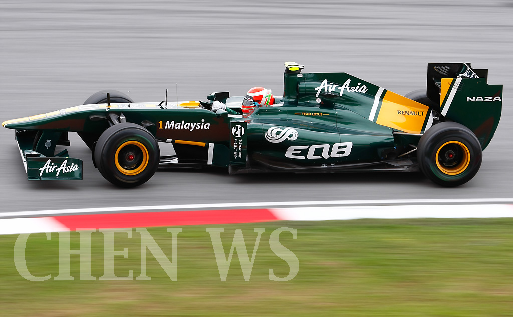 Team Lotus Jarno Trulli