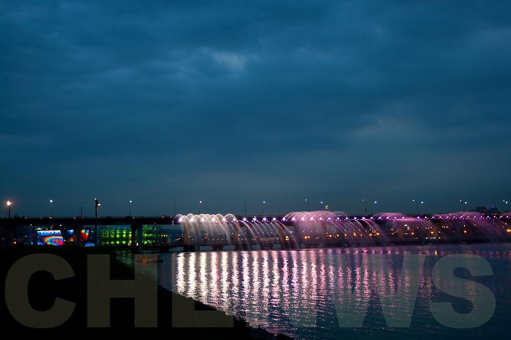 Moonlight Rainbow Fountain