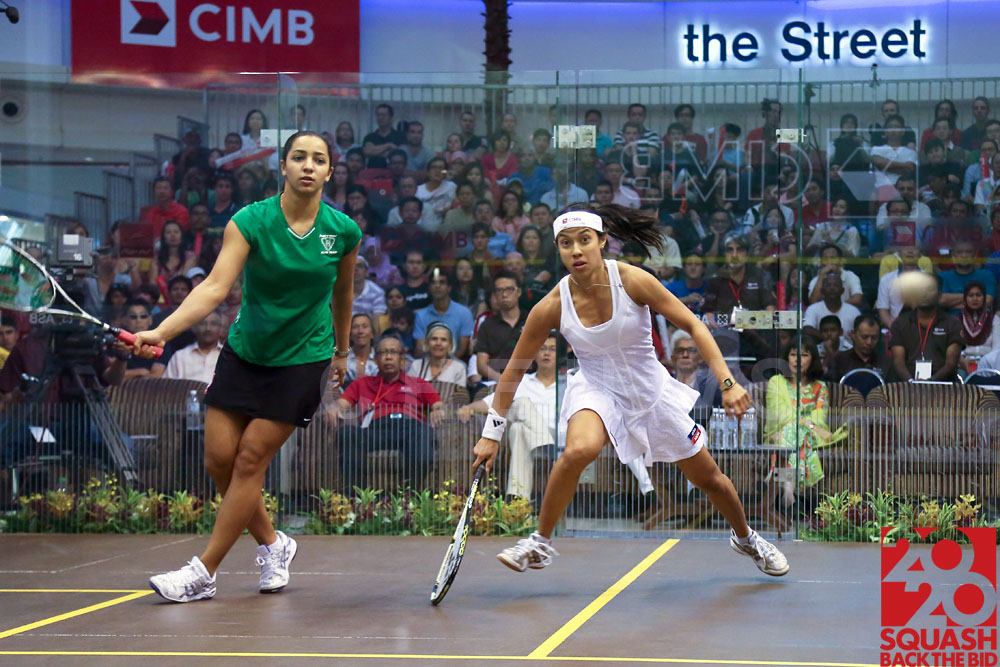 Womens final: Nicol David vs Raneem El Weleily