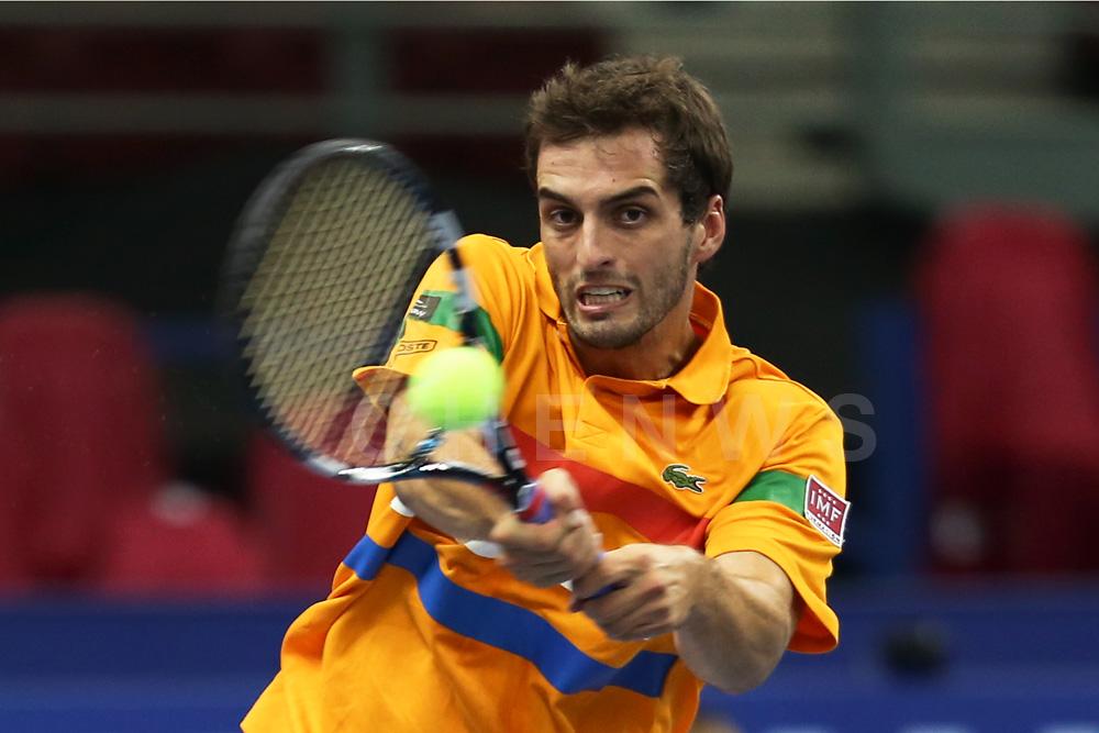 Second Round: Albert Ramos (Spain)