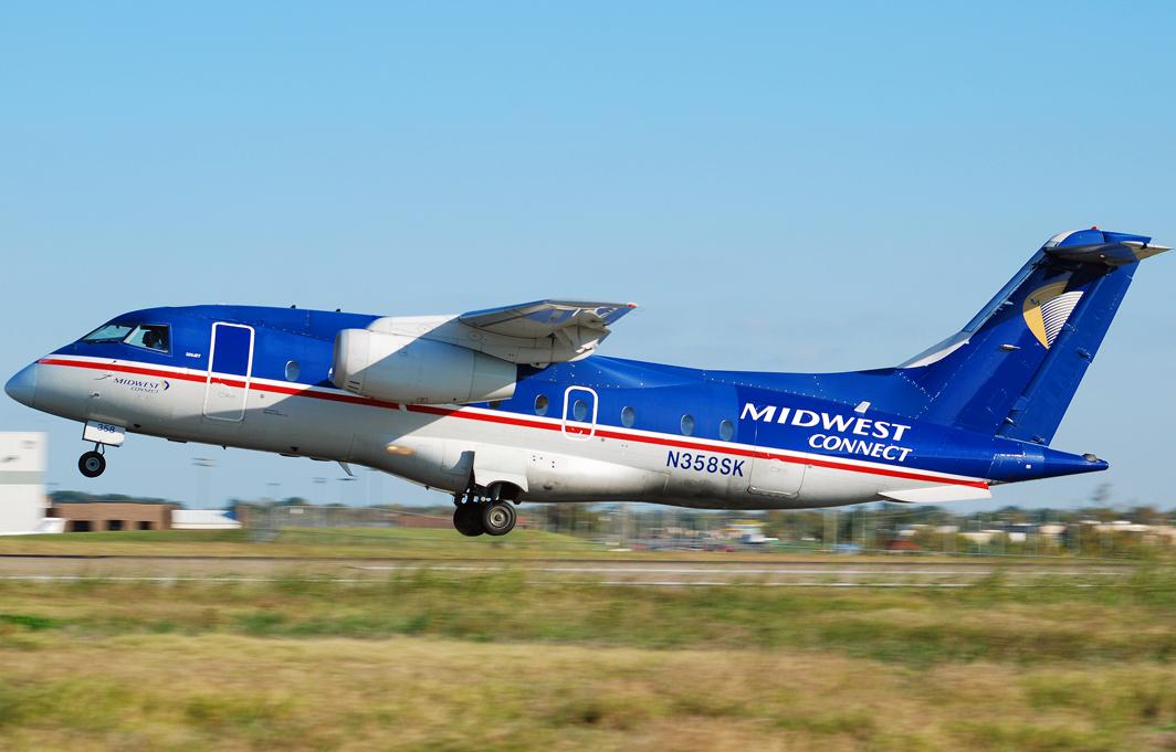 Midwest Connect Fairchild-Dornier 328 (N358SK)
