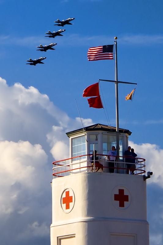 Air Show at the Beach