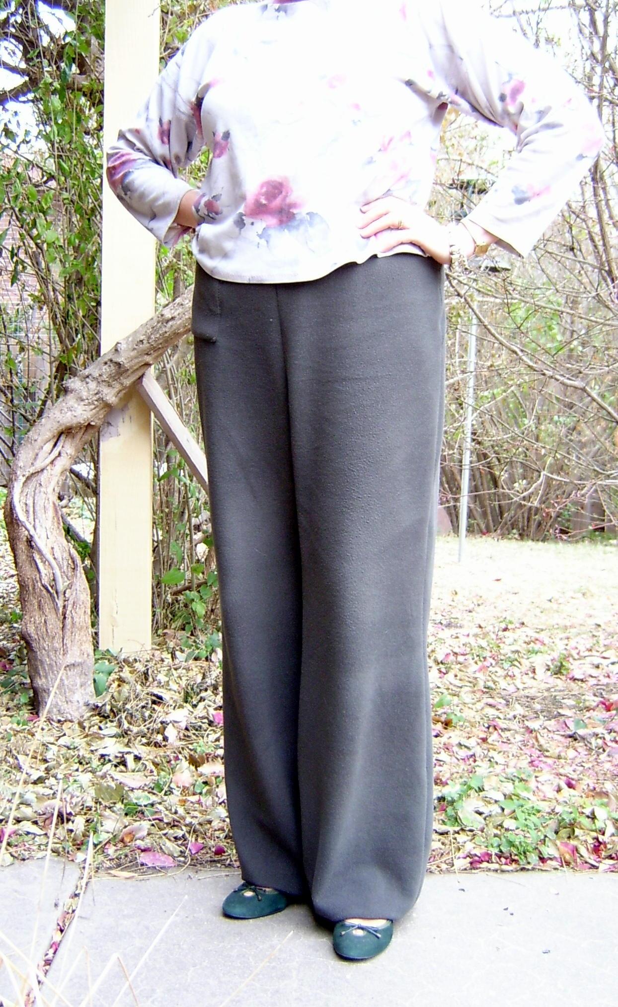 Fleece Pants Front