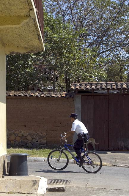 On Bike Patrol