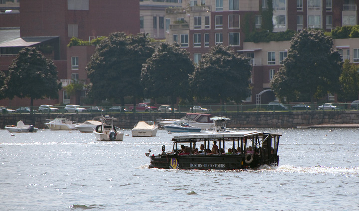 The Charles River: Duck Tours