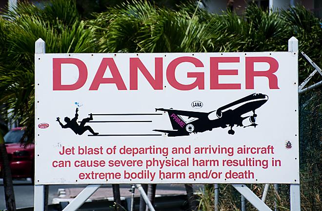 Jet Blast Dangers