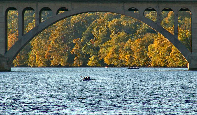 9th: Key Bridge in Fall