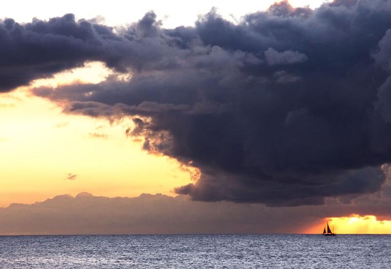 sailing under a storm     katherine