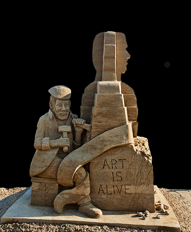 Art is Alive by Vern Coolie (click to enlarge)