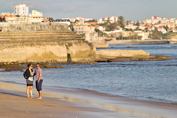 Couple by the seaside
