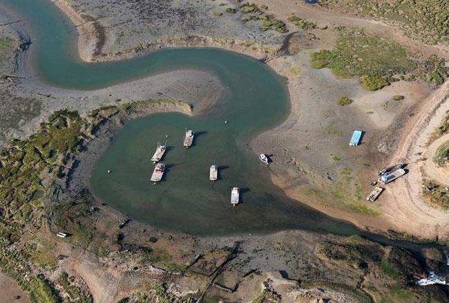 13 Rivière de Pénerf  Port oestréicole.