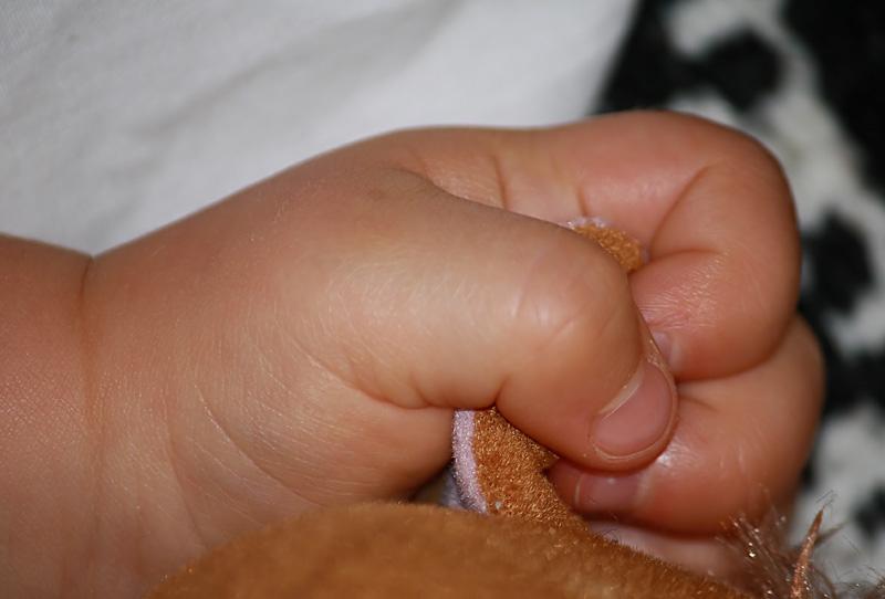 Wyatts little Fingers