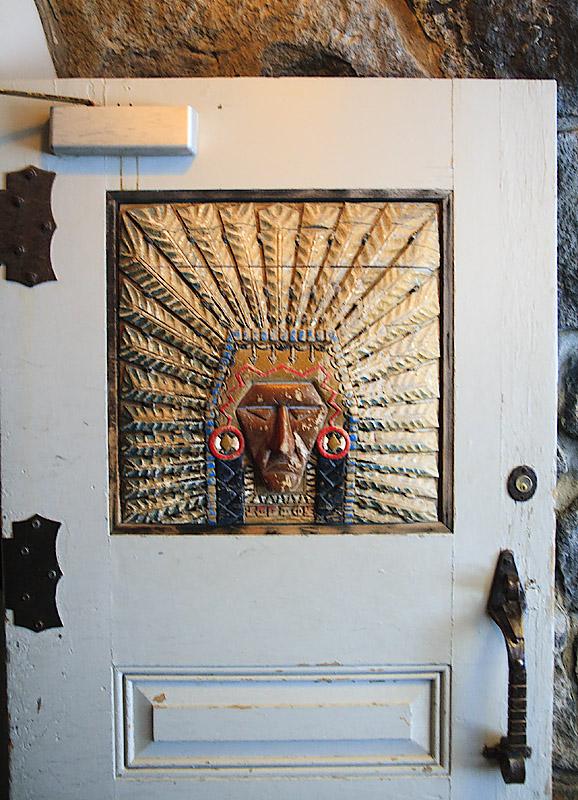 Timberline Indian door