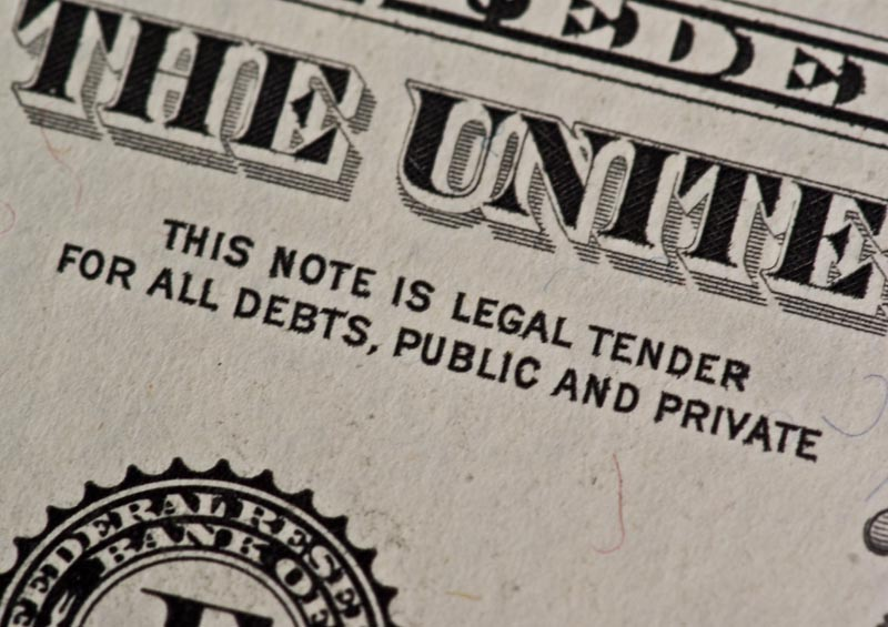 This Note Is Legal Tender