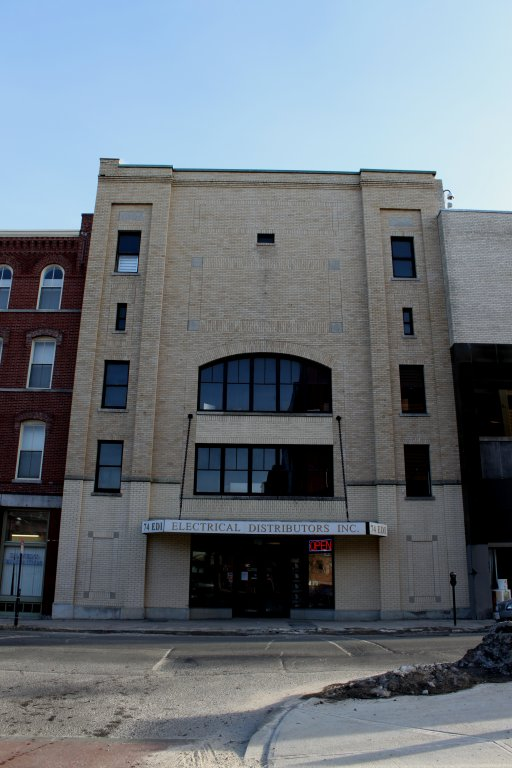 Crown Theater building