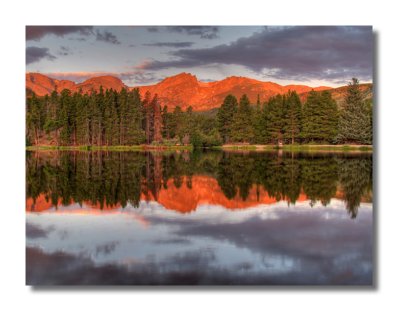 Sprague Lake Reflection