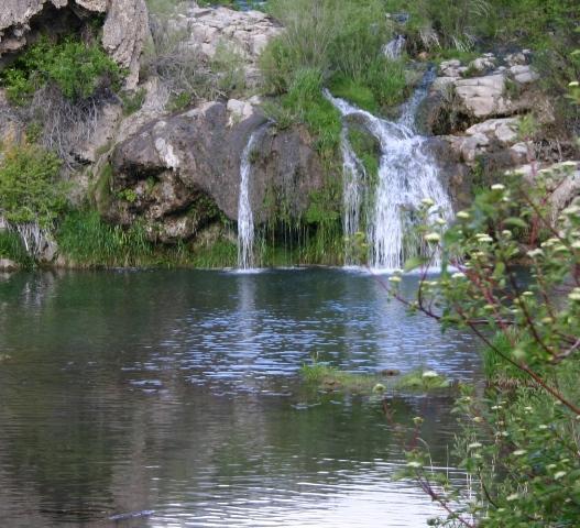Portneuf River at Osprey Grotto