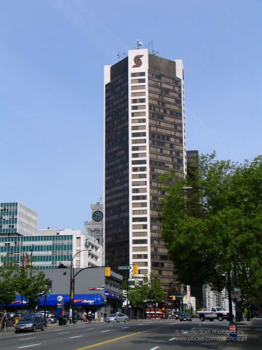 Scotia Tower on West Georgia Street, Downtown Vancouver