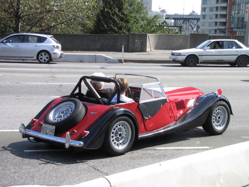 Red Morgan, rear view