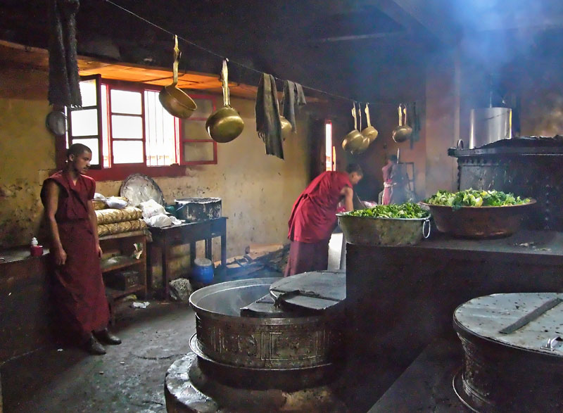 Monastery kitchen