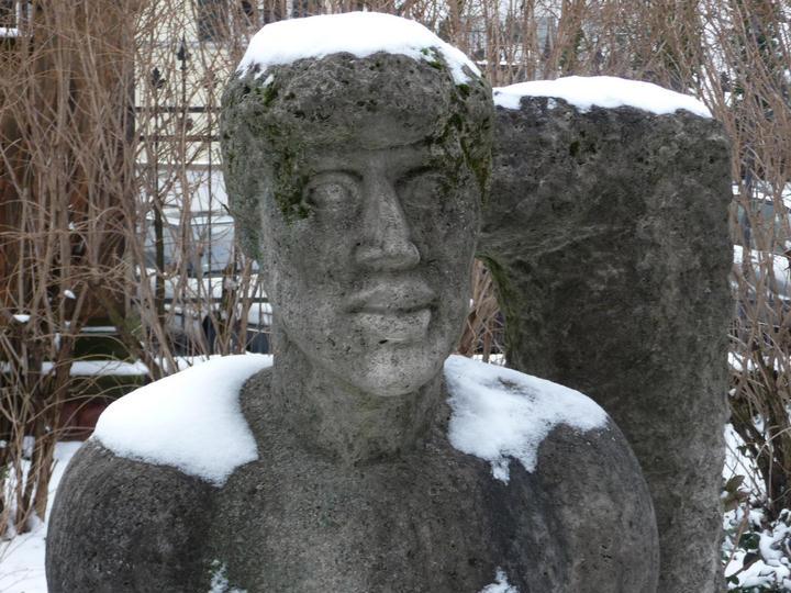 Gustav Heinrich Wolff: Brunnenfigur Narziss (1928/29)