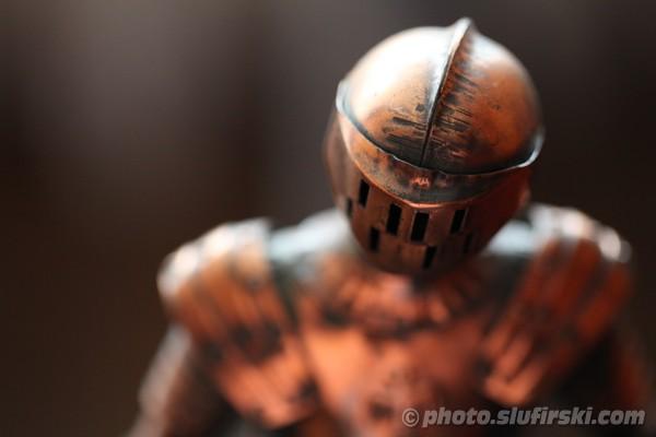 Bronze knight