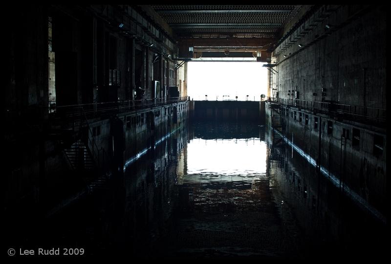 Inside the U-Boat Pens, Lorient