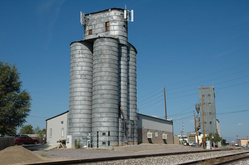 Broomfield, CO old grain elevators.