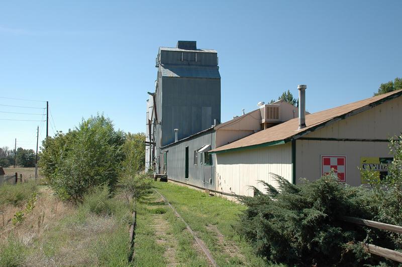 Lafayette, CO old grain elevator.