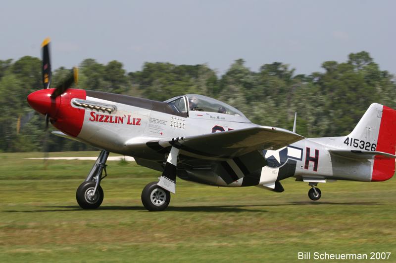 P-51 Sizzlin Liz