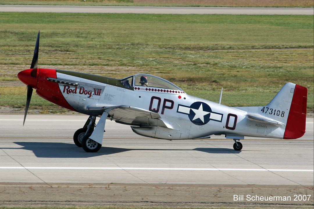 P-51 Red Dog XII