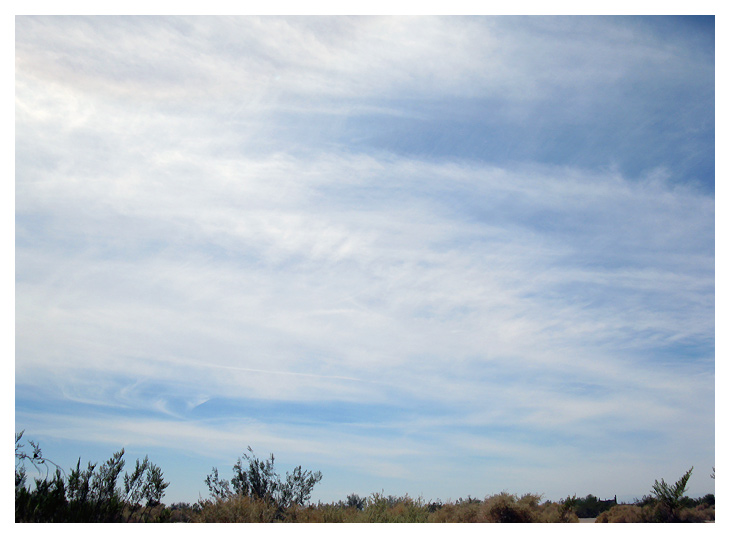From Beautiful Blue Sky to Chemtrail Hell