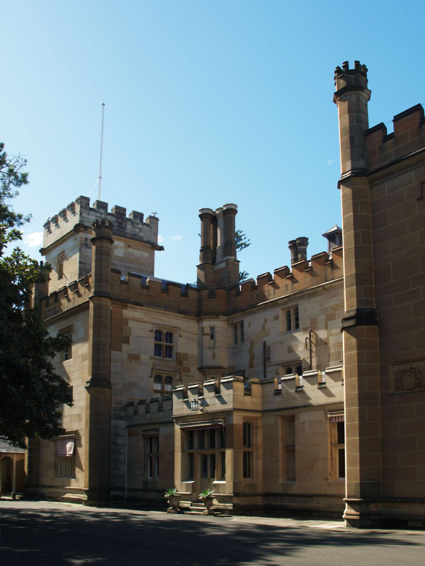 Government House - west side