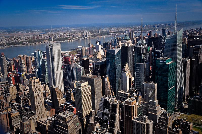 New York vue de lEmpire state building