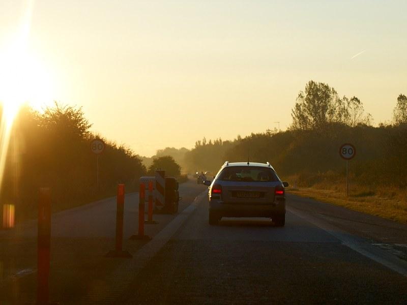 2010-10-18 Morning traffic