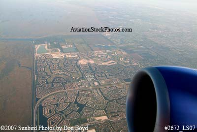 2007 - Coral Springs and Parkland aerial stock photo #2672