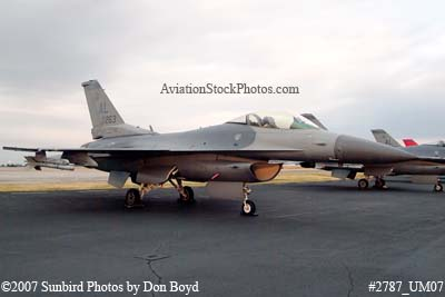 2007 - Alabama Air National Guard F-16C Block30F #AF87-0263 City of Millbrook military aviation stock photo #2787